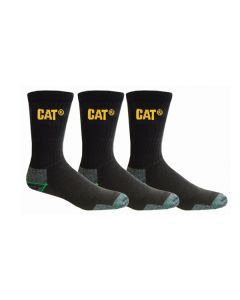 CAT Bamboo Work Socks - 3 Pack