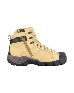 CAT Argon Hi Zip Sided Safety Boot