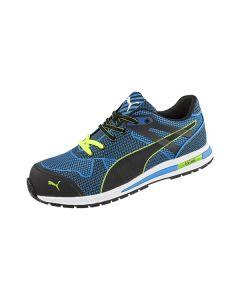 Puma Blaze Knit Safety Shoe - Blue