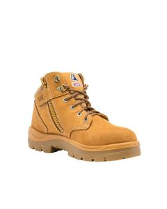 Steel Blue Parkes Zip Sided Safety Boot