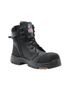 Steel Blue Torquay Zip Sided Safety Boot