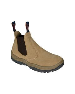 Mongrel Elastic Sided Safety Boot - Wheat