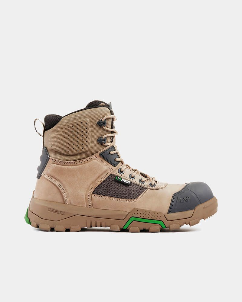 FXD WB-1 6.0 Zip Sided Safety Boot