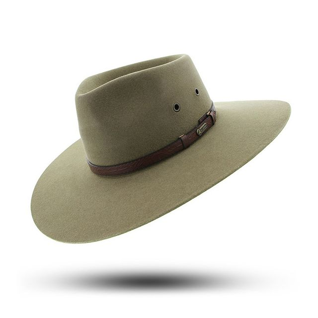 Made To Order Akubra Stockman Hat Santone Fawn